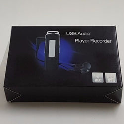 8GB USB Audio Player/Recorder