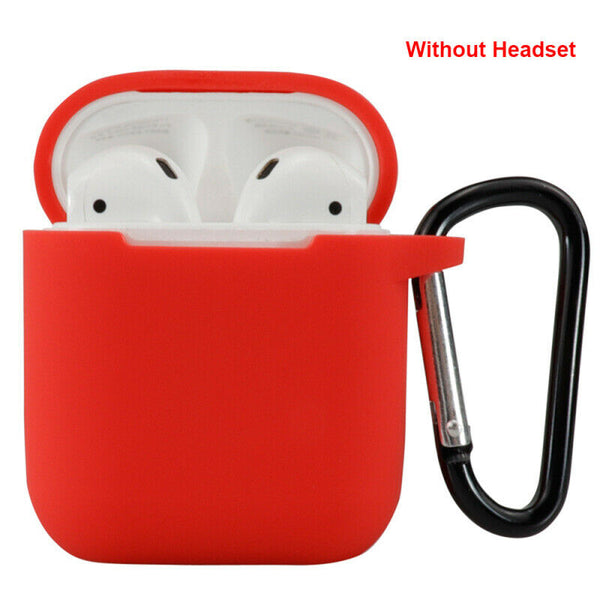 For Apple AirPods Case Protector Silicone Cover Air Pod Earphone Charger Case