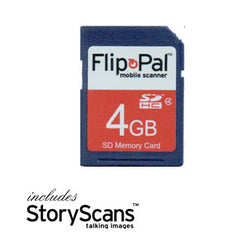 4GB Memory Card With Toolbox 4 (incl. StoryScans)