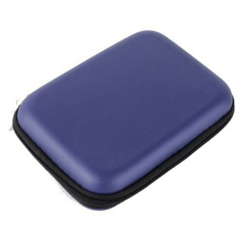 Portable Mobile HDD Hard Disk Drive Carry Case-Zipper Bag Cover Protection