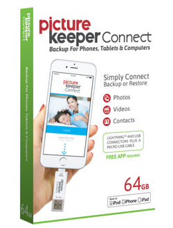Picture Keeper Connect for iPhone/iPad 64GB