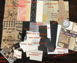 Architextures™ Junk Journal Kit - Time No. 007
