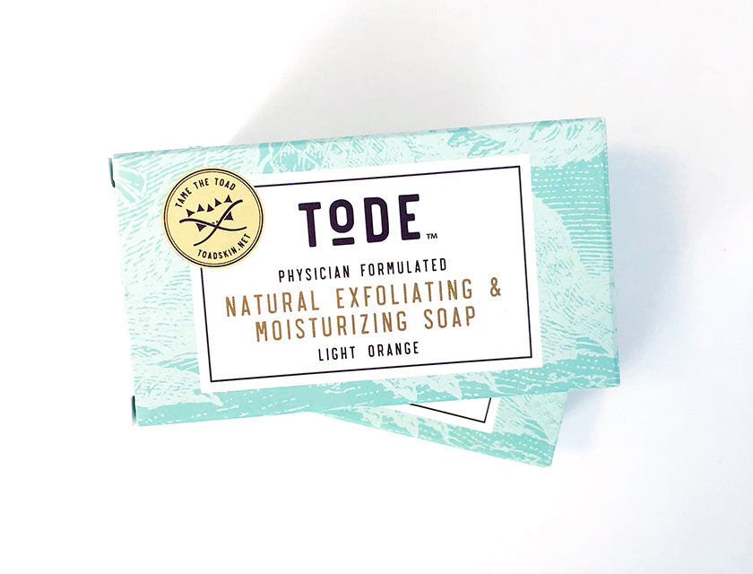 Tode Soap Sampler, two wonderful soaps! Exceptional lather!