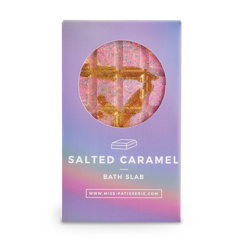Miss Patisserie Bath Slab - Salted Caramel