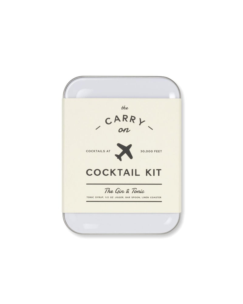 W&P Carry On Cocktail Kit - Gin &Tonic