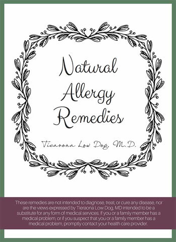 Natural Allergy Remedies Mini-eBook