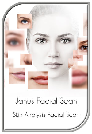 Skin Analysis Facial Scan