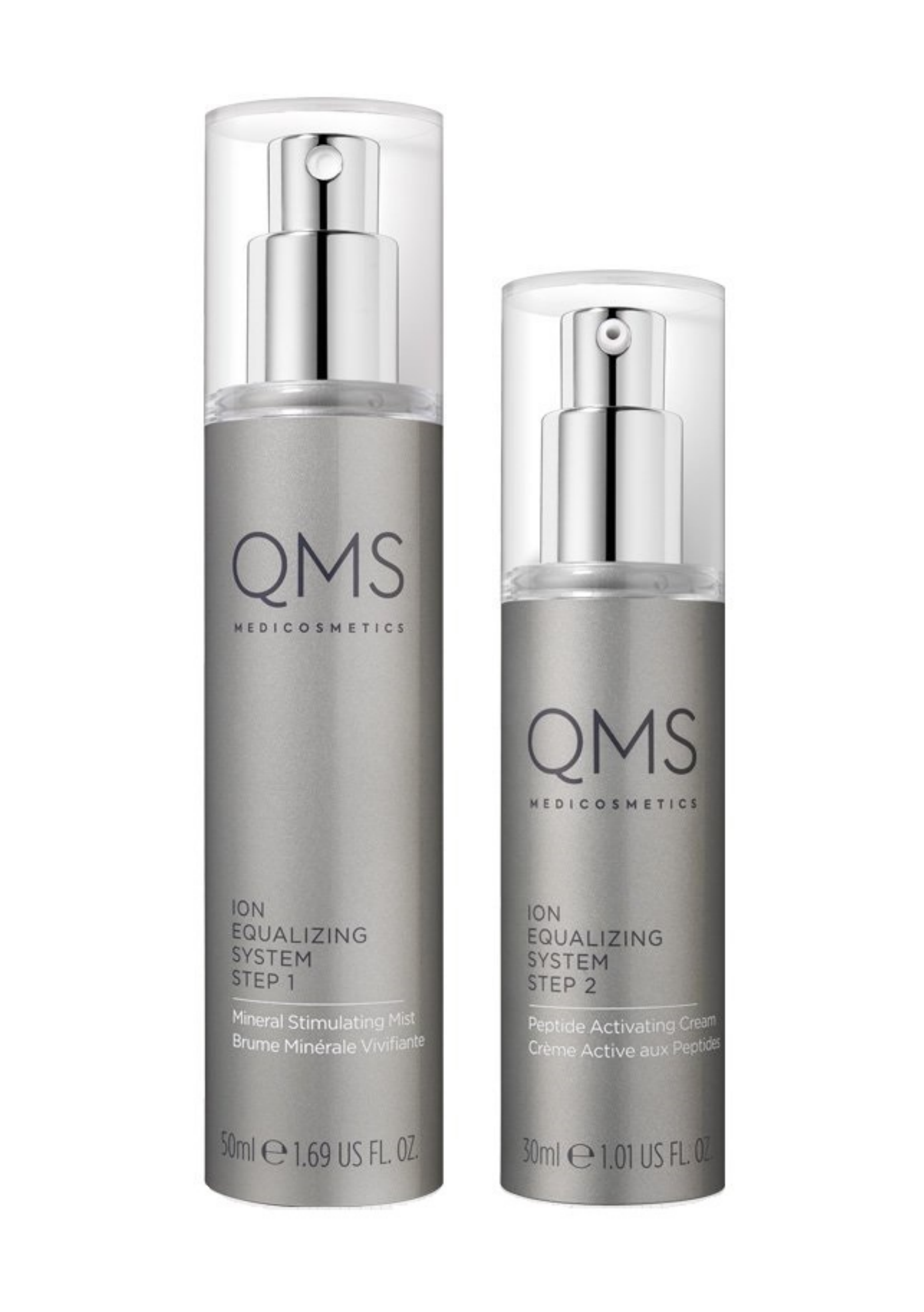 QMS®Advanced ION Equalizing System 2-step Night Routine