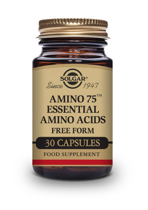 Solgar ® Amino 75 Essential Amino Acids Vegetable Capsules