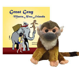 Great Gray Meets New Friends (Paperback) and Friend