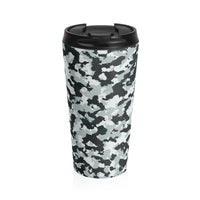 Arctic Camo Stainless Steel Travel Mug