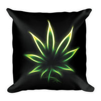 A Light In The Dark Square Pillow
