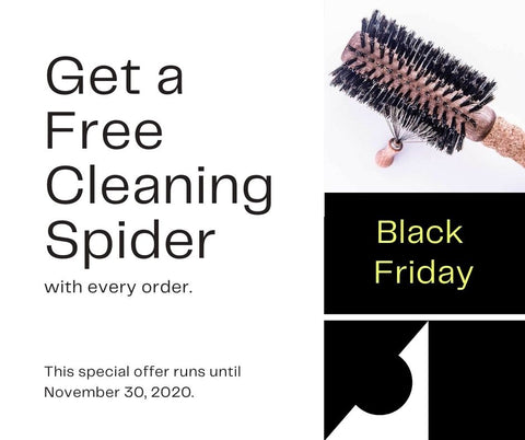Black Friday Special Offer - Get a Free Cleaning Spider with every order.