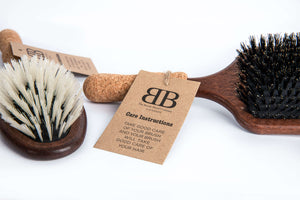 Square Wooden Paddle Brush