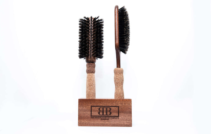 Brushes + Wooden Block Set A (2 Brushes)