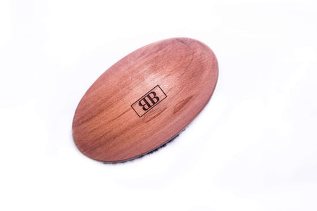 Oval Pearwood Brush