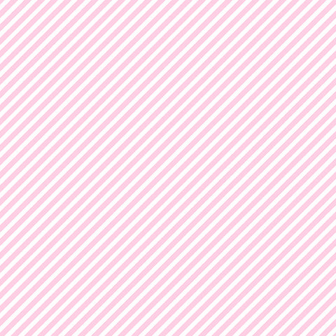 Candy Stripe - Candy Pink - Sweet Shoppe - Andover
