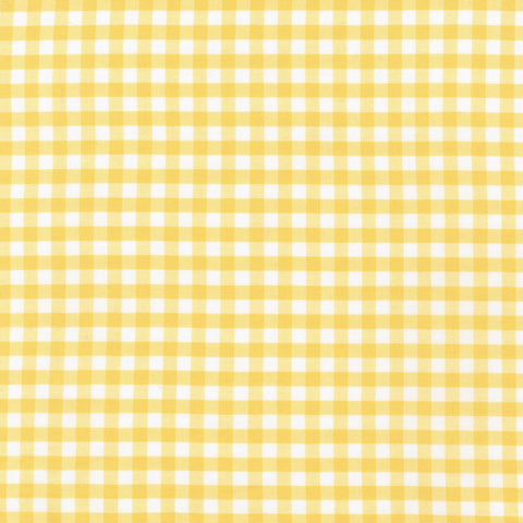 1/4 inch Yellow Carolina Gingham Check - Robert Kaufman