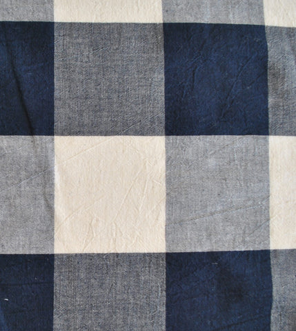 Navy Buffalo Check - Cosmo Textiles