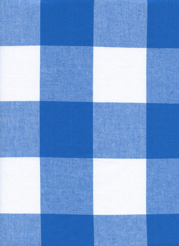 Cotton and Steel - Checkers Cobalt