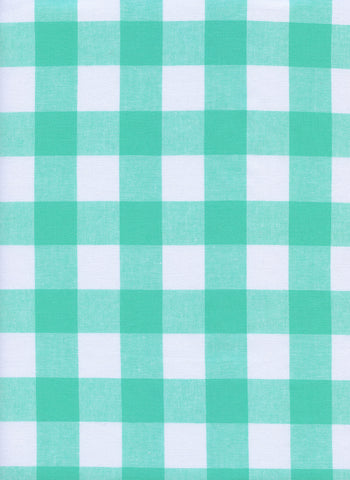 Cotton and Steel - Checkers Mint Chip