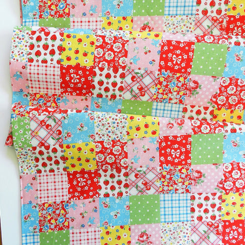 Lovely Patch - Colorful - Atsuko Matsuyama- 30's Collection - Yuwa