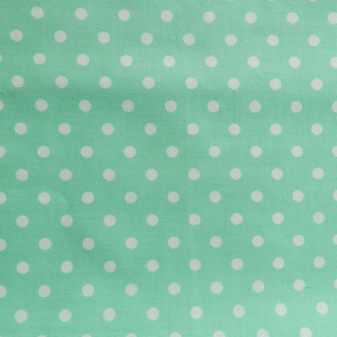 Yuwa Dot - Seafoam with White Dot - Live Life Collection -Yuwa