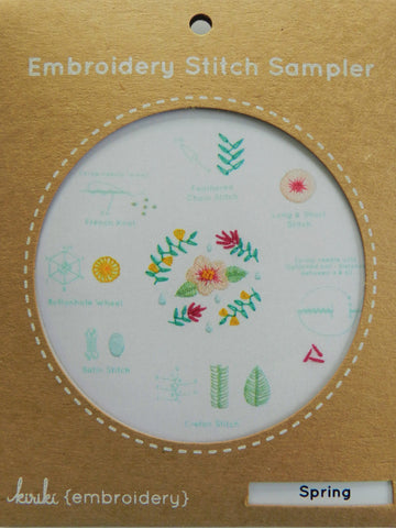 Spring Sampler - Kiriki Press