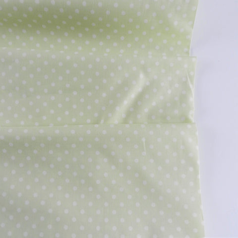 Yuwa Dot -Pastel Green - Live Life Collection