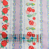 Fruit Stripe - Purple - Atsuko Matsuyama - 30's Collection - Yuwa