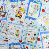 Sweet Animal Card - Blue - 30's Collection - Atsuko Matsuyama - Yuwa