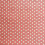Happy Sweet Dot - Pink with Off-white dot - Yuwa