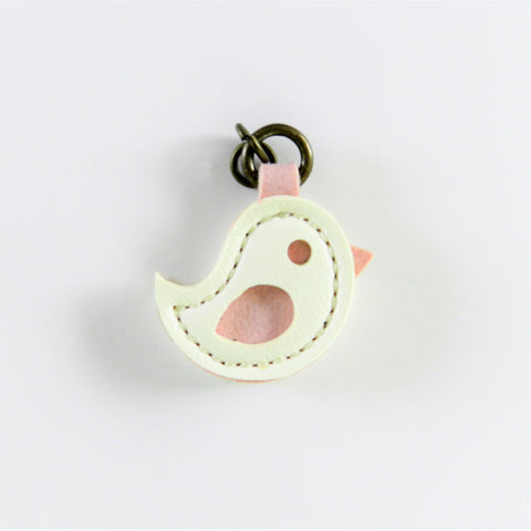 Zipper Charm - Off White Bird - Inazuma