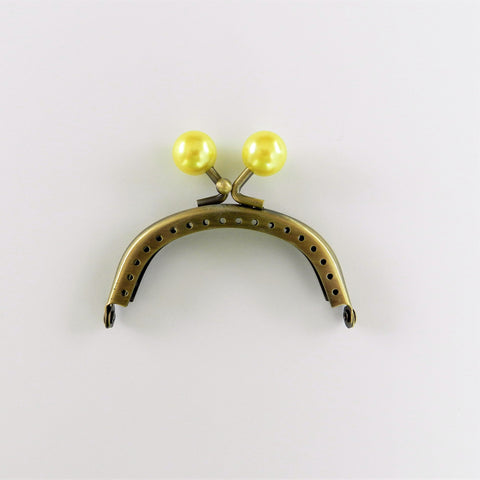 Purse Frame (Sewing Type) - Pearly Yellow - Inazuma