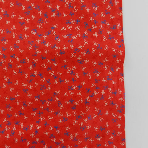 Retro Ribbon - Red - 30's Collection - Atsuko Matsuyama - Yuwa