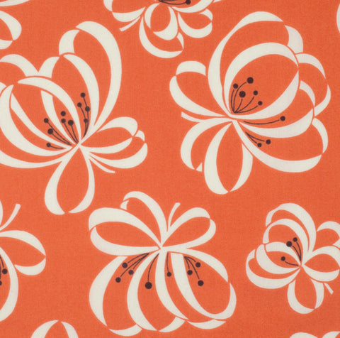 Katie Jump Rope - Orange Ribbon Floral - Free Spirit