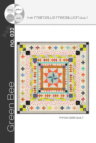 Marcelle Medallion Quilt Pattern - Alexia Abegg -  Green Bee