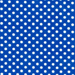 Blue/White Small Dot - Lecien