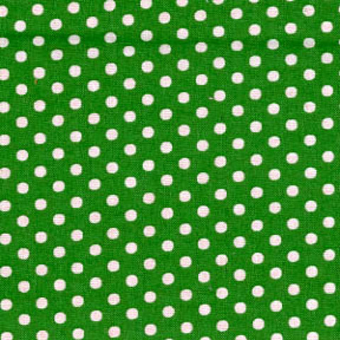 Green/White Small Dot - Lecien
