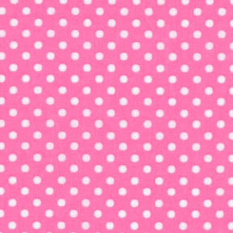 Pink/White Small Dot - Lecien