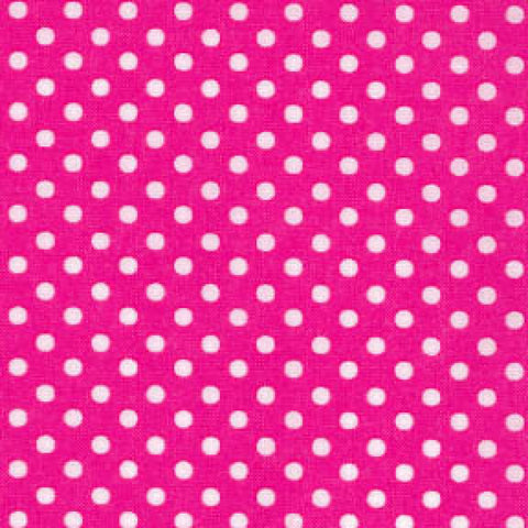 Candy Pink/White Small Dot - Lecien