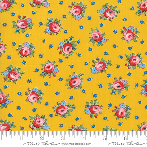 Apron Flower - Sweet Harmony - Yellow - American Jane - Moda