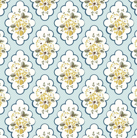 Wiltshire Floral Blue - Riley Blake