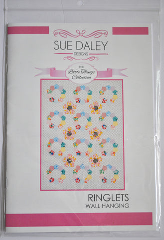 Ringlets Mini Quilt Pattern - Sue Daley - Riley Blake