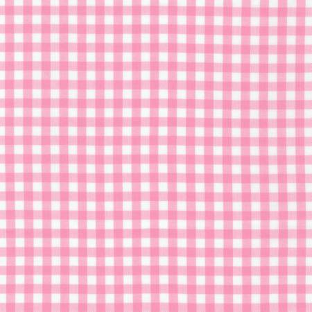1/4 inch Candy Pink Carolina Gingham Check - Robert Kaufman