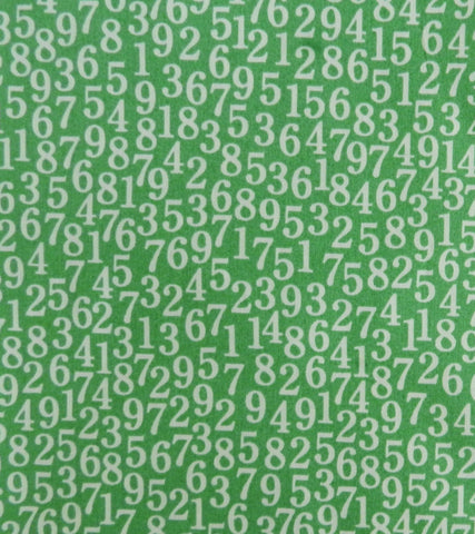 Numbers on Green - Yuwa