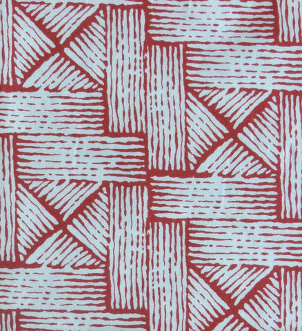 Red Basket Weave - Yuwa