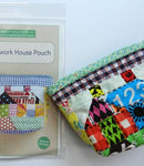 Patchwork House Pouch - Zakka Workshop