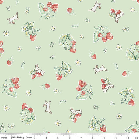 Bunnies Strawberry Mint - Penny Rose