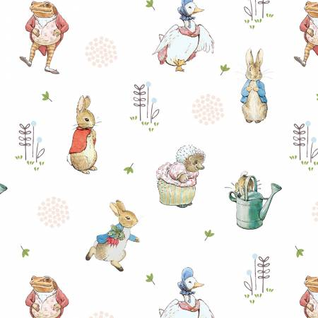 Peter Rabbit Characters - The Craft Cotton Company